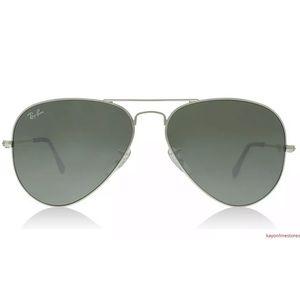 Ray Ban Aviator Black RB3025 W3277 Sunglasses 58mm